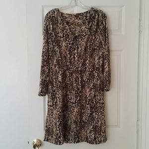 Merona XL Animal Print Dress